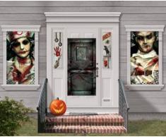 Kit decoración mural Halloween Única