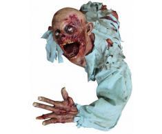 Decoración zombie Halloween Única