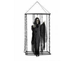 Decoración colgante segador prisionero 50 cm Halloween Única
