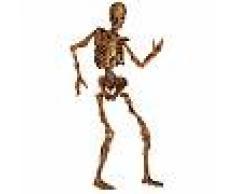 Decoración esqueleto articulado descomposición Halloween Única