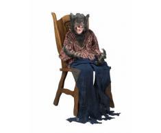 Decoración colgante hombre lobo 150 cm Halloween Única