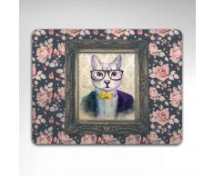 Mantel individual Gato - Floral