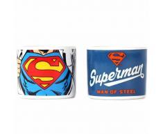 Half Moon Bay Set de 2 Hueveras DC Comics Superman