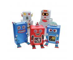 Papel de Regalo Robot - Variado