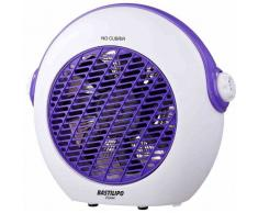 BASTILIPO Calefaccion para dormitorios juveniles, blanco-violeta,