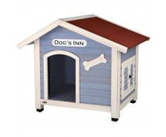 TRIXIE Casa de perro con tejado a dos aguas Natura 91x80x80 cm 39514