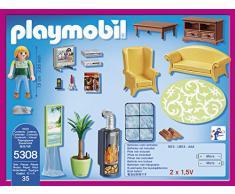 PLAYMOBIL 5308 - Salón con chimenea
