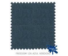 SOFA: Composición 256cm x 175cm con Chaiselongue Reversible Tapizado en tela antimanchas.