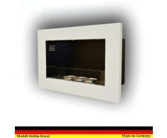 Etanol y Gel Chimenea Modelo Dublin Royal - selección de color (Blanco)