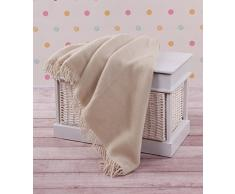 Venta. Natural y cálido de lana Merino ligera manta sofá cama funda Pad 100% lana, tamaño: 160 x 200 cm
