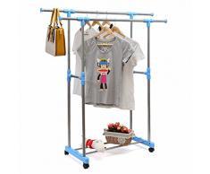Perchero extensible comprar online tus percheros - Barra colgar ropa ...