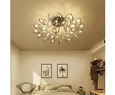Luces de techo Ali Iluminación Creativa del LED Luces Nórdicas del Dormitorio Caliente Personalidad Romántica del Arte Iluminación Moderna Simple Iluminación de la Sala de Estar Lámparas de Techo