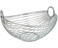 Zeller 24895 - Frutero con forma ovalada /28 x 25,5 x 16 centímetros