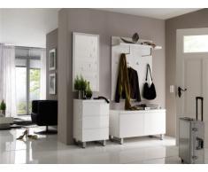 Robas Lund 52122W1 Sydney - Espejo-armario de pared (51 x 106 x 2 cm), color cromado
