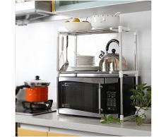 Estante de rejilla compra barato estantes de rejilla - Colgar microondas cocina ...