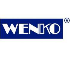 WENKO Estante con ruedas Nordic 72,5 x 35 x 31 - estantería - estantería multiusos - Bad Regal - con ruedas - de madera natural