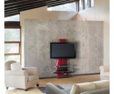 "Meliconi Ghost Design 2000 - Soporte de pared para televisor de plasma/LCD entre 32"" -63 "", rojo"