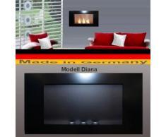 Bio Etanol Chimenea Modell Diana - Elija entre 5 colores (Negro)
