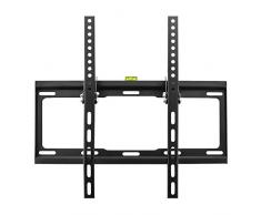 "deleyCON Universal TV Soporte de Pared - 32"" - 55"" Pulgadas (81-140cm) - a 35Kg y VESA 400x400mm - Inclinación - Distancia a la Pared 25mm - TV LCD LED OLED"
