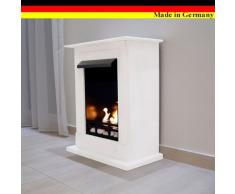 Gel + Ethanol Fireplaces Madrid Deluxe Inclusive - Chimenea (acero inoxidable)
