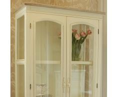 Melody Maison - Armario con vitrinas de cristal y cajones (madera de fresno),...