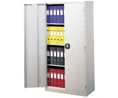 Cablematic - Armario archivador de oficina metálico con puertas 900x2000x400 mm de RackMatic