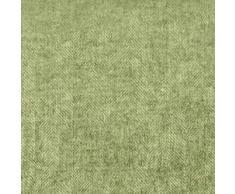 Linen & Cotton Manta para Sofa/Mantas de Cama de Lujo Paris Sarga Diamante -100% Pura Lana Nueva Zelanda, Marrón/Verde (140 x 200cm) Plaid/Blanket/Funda Single Matrimonial de Lana Oveja