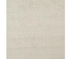 Oberon 'MISTY signicase': tapicería de terciopelo color crema retardante de llama Material de la tela sofá amortiguador de telas Loome, Oberon 'Misty Plain' : Cream, 10 x 14 cm sample