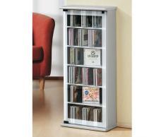 VCM Classic-Torre para CD/DVD, para 150 CDs, Color Vetas de Nogal