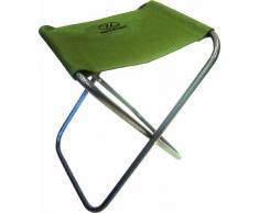 Highlander - Taburete para campin y pesca, color oliva, FUR068