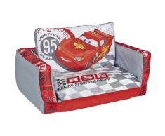 Cars 286CSR - Sofá desplegable hinchable, dos en uno, color rojo