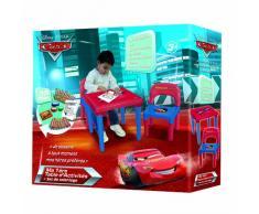 D'Arpèje CDIC016 Cars - Mesa y silla infantil con set para colorear