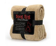 Snug Rug Special Edition Luxury – Manta de Lana Sherpa, Color Beige, 127 x 178 cm