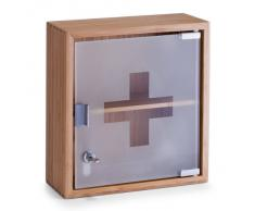 Zeller 13594 - Botiquín, madera de bambú y cristal (29 x 12 x 31 cm)
