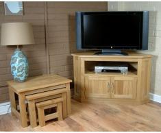 Mesa esquinera para tv compra barato mesas esquineras for Mueble tv esquina