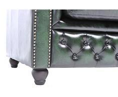Chesterfield Showroom - Chesterfield Original Sofá - 1+2 plazas - Este sofa esta hecho completamente a mano - Verde envejecido