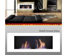 Bio Etanol Chimenea Modell Tornado Deluxe (blanco)