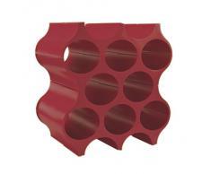 Koziol Set-Up Armario para Botellas, Sistema Botellero, Rojo, 3596583