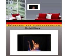 Bio Etanol Chimenea Modell Diana Deluxe (blanco)