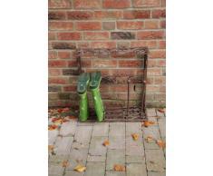 Fallen Fruits LH58 - Estantería para botas (hierro fundido), color marrón