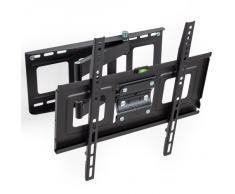 """TecTake Soporte de pared para TV de pantalla plana, inclinable y giratorio VESA 400x400 máximo 70kg 81 - 140 cm (32"""" - 55"""")"""