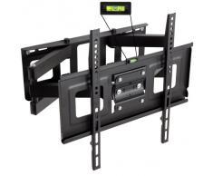 "TecTake Soporte de pared para TV de pantalla planta, inclinable y giratorio VESA 400x400 máximo 100kg 81-140 cm (32"" - 55"")"