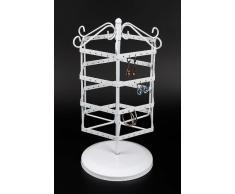 aretes almacenamiento giratorio titular la exhibición joyería de - pie pendiente pendientes los del Pendiente presentación HEXAGONAL porta estante sabe