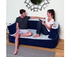 Bestway sillón de aire 165 x 89 x 64 cm de lujo sofá, 75058