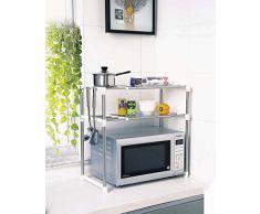 Estante de rejilla comprar online tus estantes de for Colgar microondas cocina