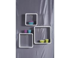 Kare Estanteria Lounge Cube Square white (3/Set)