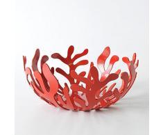 Alessi ESI01 21 R - Frutero de acero, color rojo