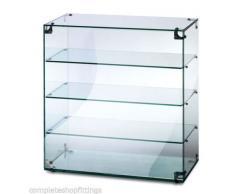 Pantalla de Cristal de Countertop Case/ambiental Pastel de vitrina