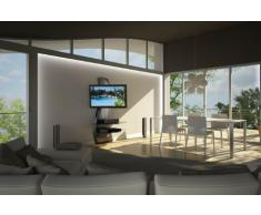 "Meliconi Ghost Design 2000 - Soporte de pared para televisor de plasma/LCD entre 32"" -63 "", plateado"