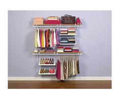 Rubbermaid - Organizador colgante para armario (2 estantes)